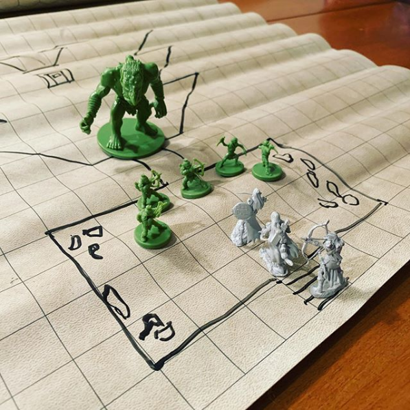 Enjoying Dungeons & Dragons Wednesday