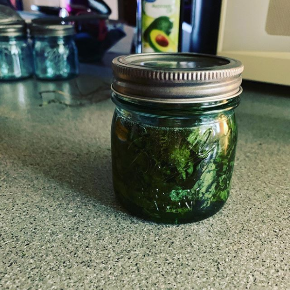 Peppermint Oil Infusion